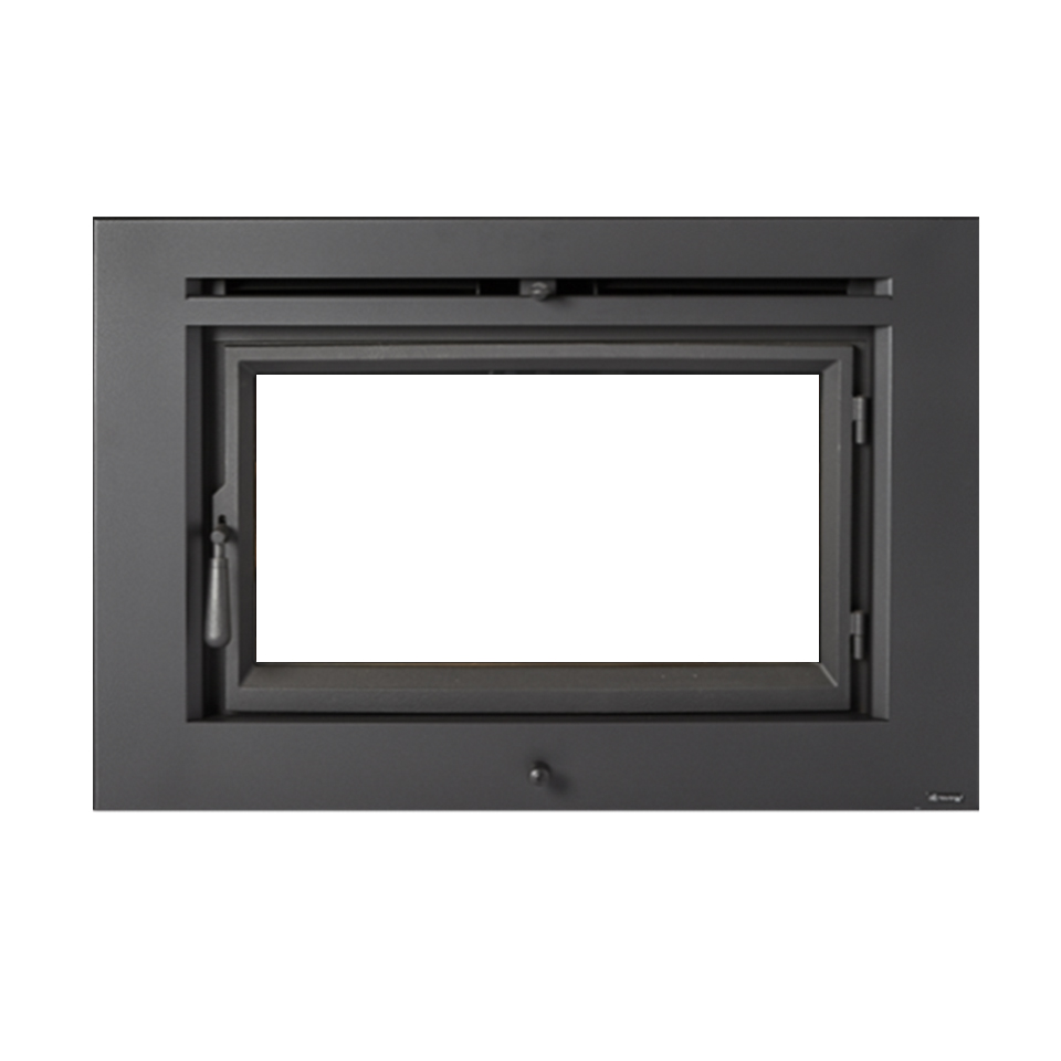 Large Flush Wood Hybrid-Fyre™ Wood Insert Rect. | Fireplace ...