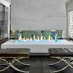 DaVinci Custom Linear Fireplaces