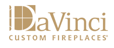 DaVinci Custom Linear Fireplaces logo